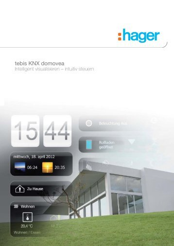 Hager – tebis KNX domovea - Frings Building Solutions