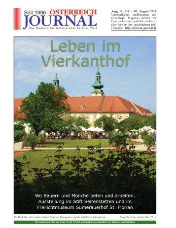 Leben im Vierkanthof Leben im Vierkanthof - Österreich Journal