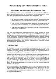 Titan drehen 1 - Form & Technik GmbH