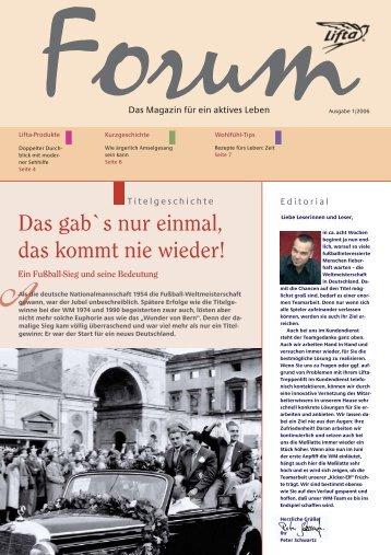Lifta Forum: Lifta-Produkte – Kurzgeschichte – moderne Sehhilfen ...
