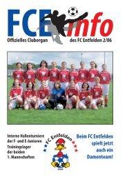 FCE-Info / Ausgabe Nummer 2/2006 - FC Entfelden 2004
