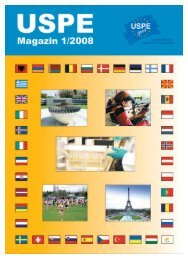 Magazin 1/2008 - USPE
