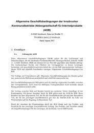 AGB - IKBnet