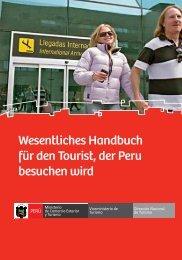 Wesentliches Handbuch für den Tourist, der Peru besuchen wird