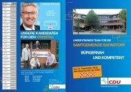SAMTGEMEINDE BARNSTORF BÜRGERNAH ... - CDU Barnstorf