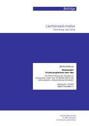 PDF Download - Liechtenstein-Institut, Bendern