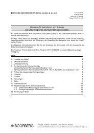 Hinweise zur Dokumentvorlage.pdf - Richard Boorberg Verlag