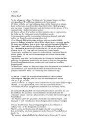 4. Kapitel Offener Brief An den sehr geehrten Herrn Präsidenten der ...