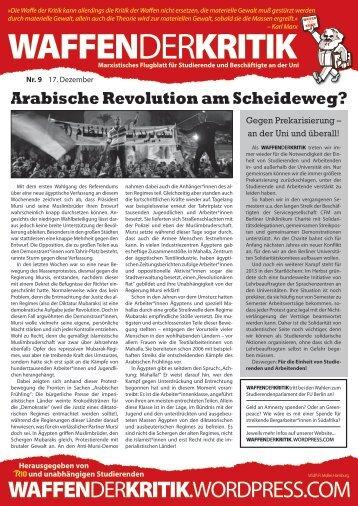 Arabische Revolution am Scheideweg? - Klasse Gegen Klasse