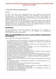 Weiterbildungsordnung Allgemeinmedizin WBO 2005 - Hausarzt ...