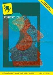 AUGUST 2012 - SpyMagazin