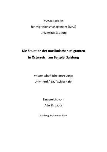 Adel Firdaous - Österreichischer Integrationsfonds