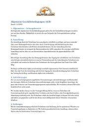 Allgemeine Geschäftsbedingungen (AGB) - UND SKISCHULE ...