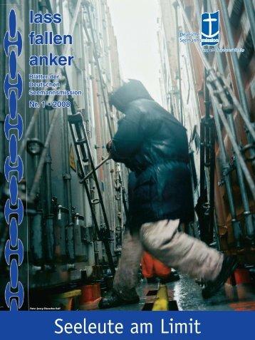 lass fallen anker 1-08 | incl. Korr. Herausgeber ... - Friedemann Scheer