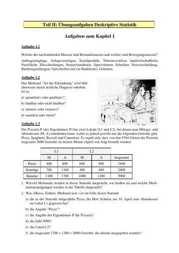 STATISTIK AUFGABEN 2010/5 1. Aufgabe Die folgende Tabelle ...
