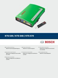 BOSCH MASTERTECH VCI SCAN TOOL NOW PROVIDES