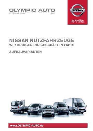 Nissan Aufbauvarianten - Olympic Auto GmbH