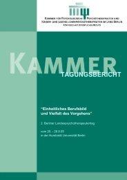 Tagungsband Landespsychotherapeutentag 2005 (PDF, 4749 kb)