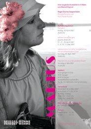 Flyer (PDF) - Spiegelbühne