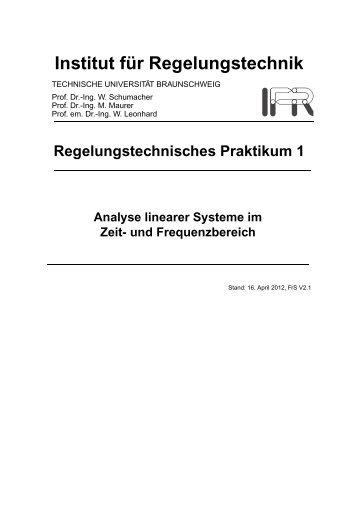 Untersuchung von Systemen im Zeit- und Frequenzbereich