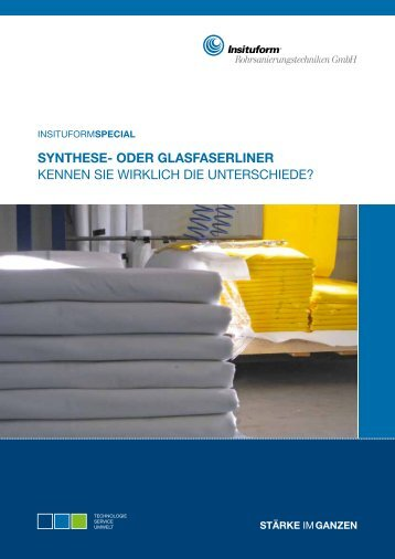 Synthese- oder Glasfaserliner - Insituform Rohrsanierungstechniken ...