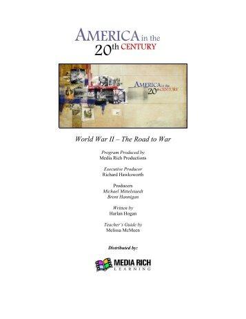 World War II – The Road to War - Media Rich Learning