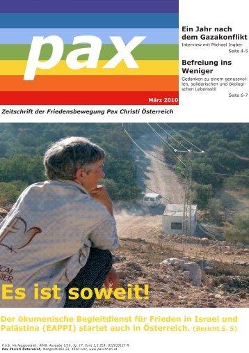 Ausgabe 01/2010 - Katholische Hochschulgemeinde Linz