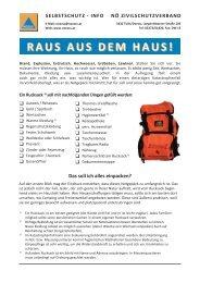 Merkblatt Notgepäck und Dokumentenmappe (pdf) - NÖ ...