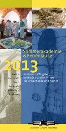 SOMMERAKADEMIE UND FERIENPROGRAMM 2013 als PDF ...