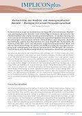 IMPLICONplus - AKG - Universität Bremen - Page 2