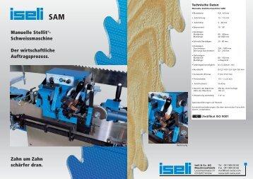 SAM - Manuelle Stellit® Schweissmaschine - Iseli-swiss.org