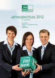Jahresabschluss - PSD Bank Nord eG