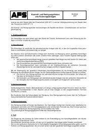 Merkblatt Kontroll- und Reinigungsfristen von Feuerungsanlagen 2007
