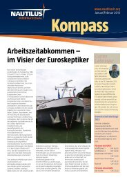 Kompass Jan Fev 2013 - Nautilus International
