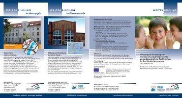 6559 Flyer BrueKurs-KiTa.qxd:Layout 1 - Berufliche Schule der FAW