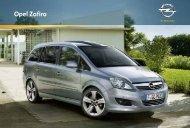 Opel Zafira Katalog