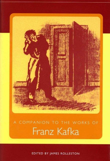 Companion To The Works Of Franz Kafka Pdf Tywls12ela