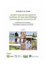 Ausdehnung des Biologischen Landbaus für eine zukunftsfähige ...
