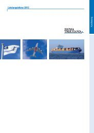 Leistungsbilanz 2012 - HANSA TREUHAND ...