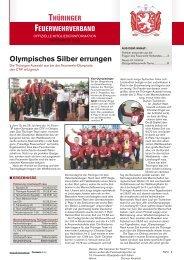 Mitgliederinfo 09/2009 - Thüringer Feuerwehrverband