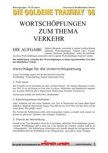 Arbeitsblätter 2 (329KB) - Lehrer.at