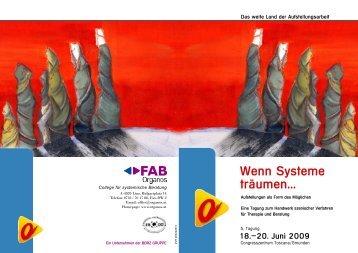Wenn Systeme träumen... - Österreichisches forum Systemaufstellungen