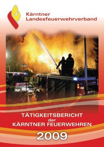 Leistungsbericht 2009 - Landesfeuerwehrverband Kärnten