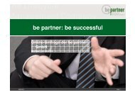 be partner: be successful