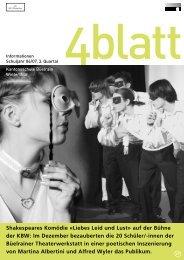 4blatt Nr. 27 - Kantonsschule Büelrain, Winterthur