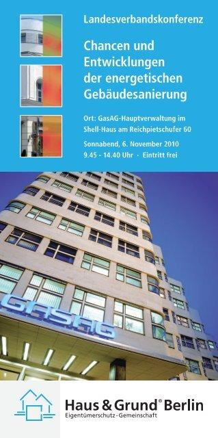 Chancen und Entwicklungen der energetischen Gebäudesanierung