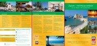 Prospekt «Zypern – mit Musse erleben - ERF Medien