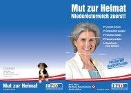 Das freiheitliche Wahlprogramm zum Herunterladen - Fpö nö