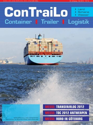 Titel Mai 2012:Layout 1 - P&R Container Investitions Programm