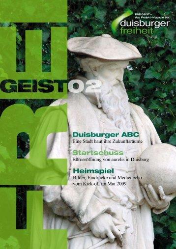 Startschuss Heimspiel Duisburger ABC